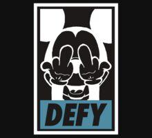 Mickey Says DEFY - Inverted by tumblingtshirts