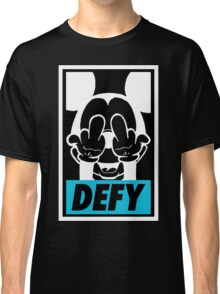 Mickey Says DEFY - Inverted Classic T-Shirt