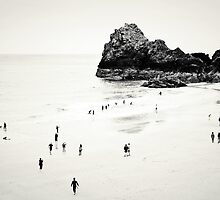 Cornwall Beach Life by Dorit Fuhg