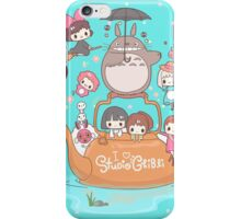 love it ghibli studio iPhone Case/Skin
