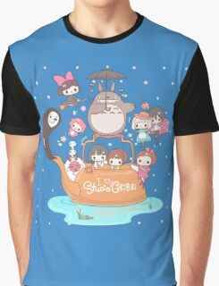 love it ghibli studio Graphic T-Shirt