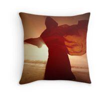 Le Dormeur in Light Throw Pillow