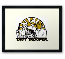 DAFT TROOPER Framed Print
