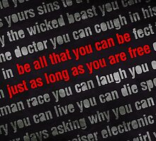 Be All That You Can Be - Grunge - Typography by Styl0