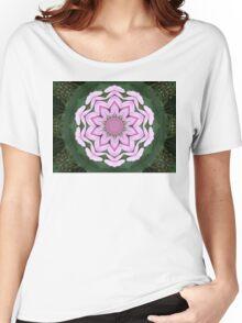 Pink petal mandala. Women's Relaxed Fit T-Shirt