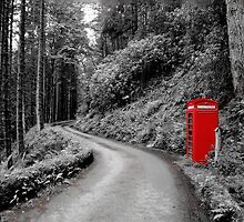 Red Phone Box by Neil Cameron