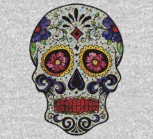 Flower Skull by Jordan Turner