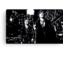 Midnight Crime Canvas Print