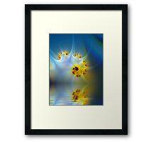 Dive Framed Print