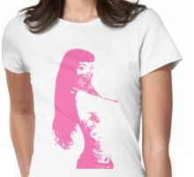 thug pink Womens Fitted T-Shirt