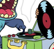 Lilo and Stitch listen to music Sticker