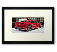 Toyota FT-1 Concept Framed Print