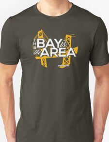 Bay Area Bridges Oakland Edition Unisex T-Shirt