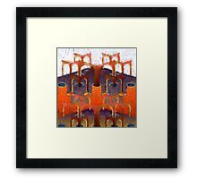 arches of infinity Framed Print