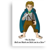 sam wise Canvas Print