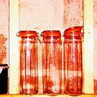 Red Jars- Unique Photography  by Vincent J. Newman
