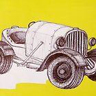 1930's American Austin Midget Racer  by Charlie-R