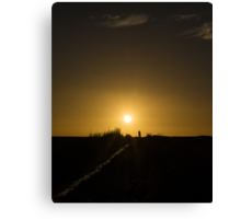 Last Sunset Canvas Print