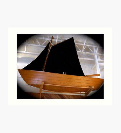 Black sails by night? Art Print