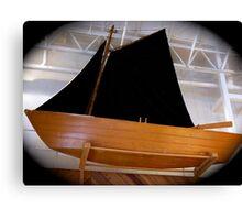 Black sails by night? Canvas Print