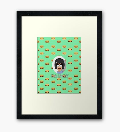 Tina Belcher Framed Print