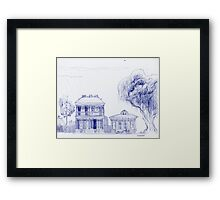 Southern Dream ~ Two Homes Framed Print