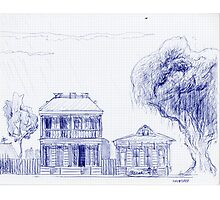 Southern Dream ~ Two Homes Photographic Print