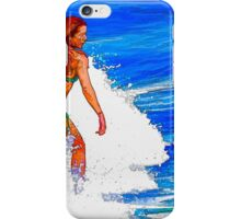 Surf in colors iPhone Case/Skin