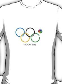 Sochi 2014 Rings T-Shirt