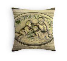 Cerubs Throw Pillow