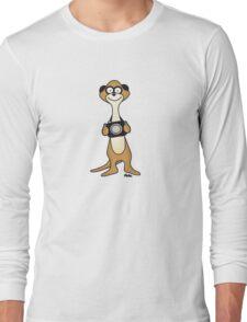 Meerkat Photographer Long Sleeve T-Shirt