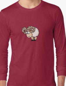 Funny Aries Sheep Long Sleeve T-Shirt