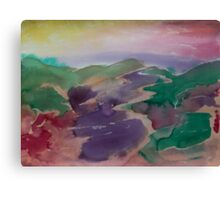 Seeping Valley Canvas Print