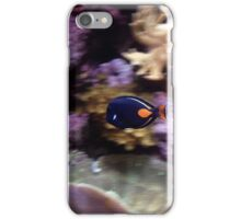 Still fish in a moving world iPhone Case/Skin