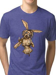 Psycho Lacey Tri-blend T-Shirt