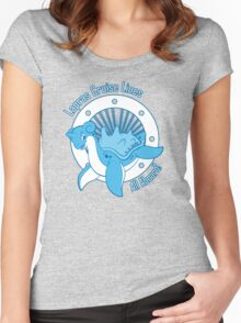 Lapras Cruise Lines Women's Fitted Scoop T-Shirt