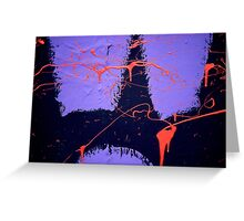 A CLOSER NY - LAFAYETTE NEON Greeting Card