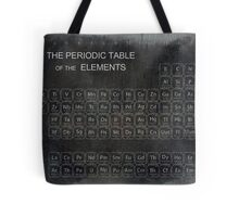 AGED PERIODIC TABLE Tote Bag