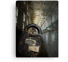 ALCATRAZ MAXIMUM SECURITY LOCKDOWN Metal Print