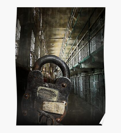 ALCATRAZ MAXIMUM SECURITY LOCKDOWN Poster