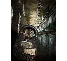 ALCATRAZ MAXIMUM SECURITY LOCKDOWN Photographic Print