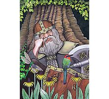 Sleeping Dwarf Photographic Print
