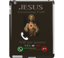 INCOMING CALL-WILL U ANSWER?-YES OR NO- CHRISTIAN SELECTIVE APPAREL..PILLOWS-JOURNAL-SCARF-TOTES-TEE SHIRT ECT... iPad Case/Skin