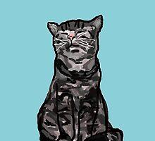 Smug Cat is Smug by ThwartedBear