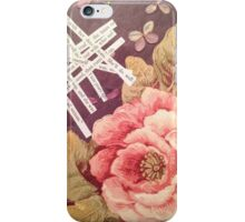 Blossoming Words iPhone Case/Skin