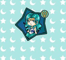 Chibi Sailor Neptune by Ranefea