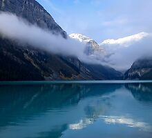 MISTY MORNING at LAKE LOUISE - CANADA by Daniel-Hagerman