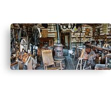 FRONTIER SADDLERY SHOP of the OLD WEST Canvas Print