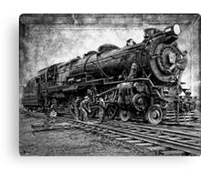 LOCOMOTIVE NO. 3863 in for REPAIRS Canvas Print