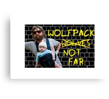 Wolfpack not far Canvas Print